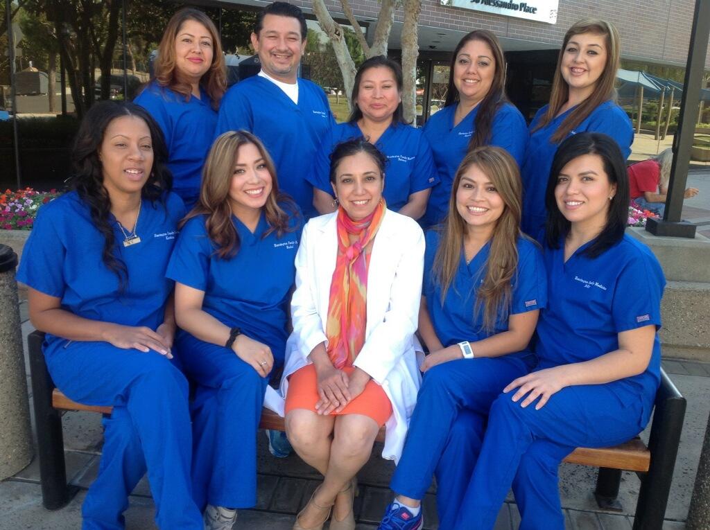 The staff of Huntington Family Medicine in Pasadena